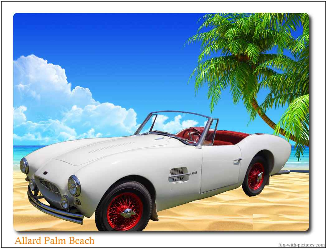 Allard Palm Beach Car