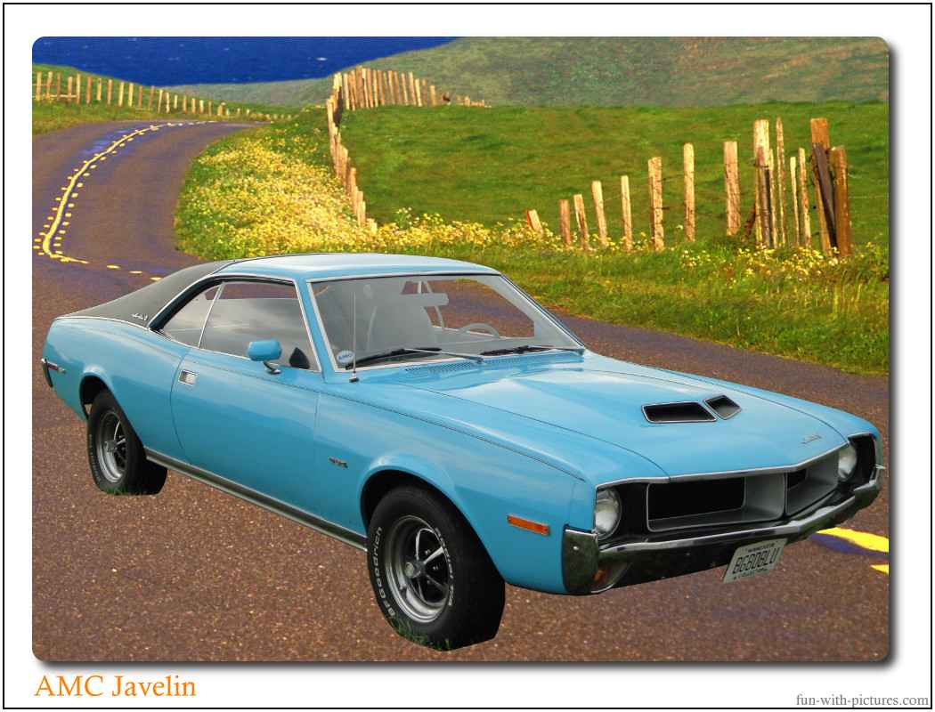 Car Picture Amc Javelin
