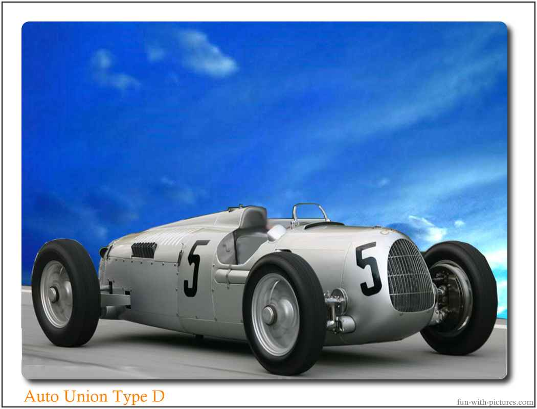 Auto Union Silver Arrow Car