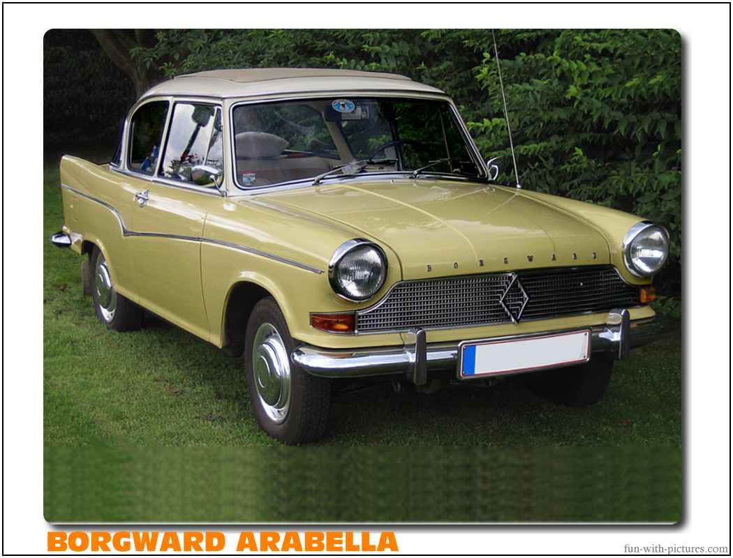 Borgward Arabella Car