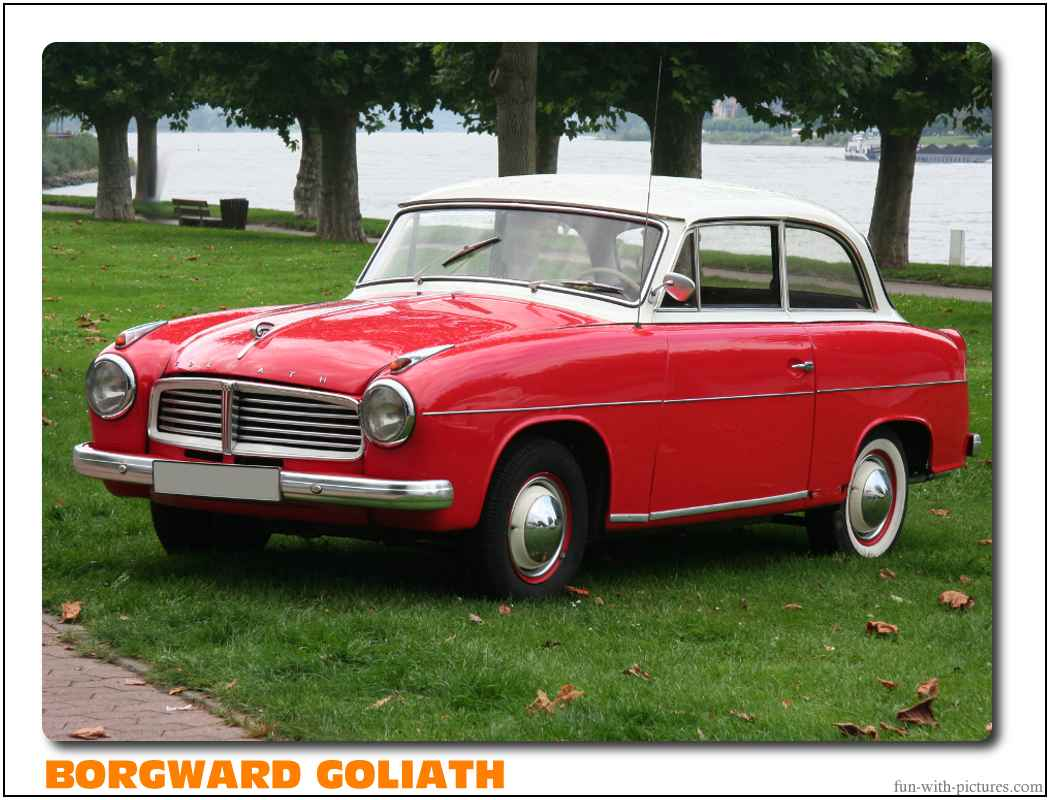 Borgward Goliath Car