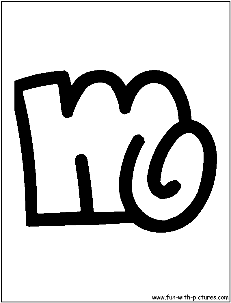 m bubble printable coloring pages - photo #21