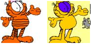 colorful garfield