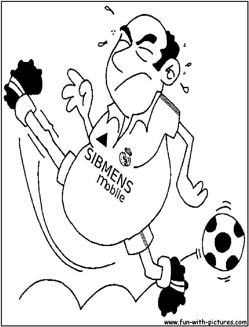 David beckham coloring pages ~ Future Beckham Coloring Page