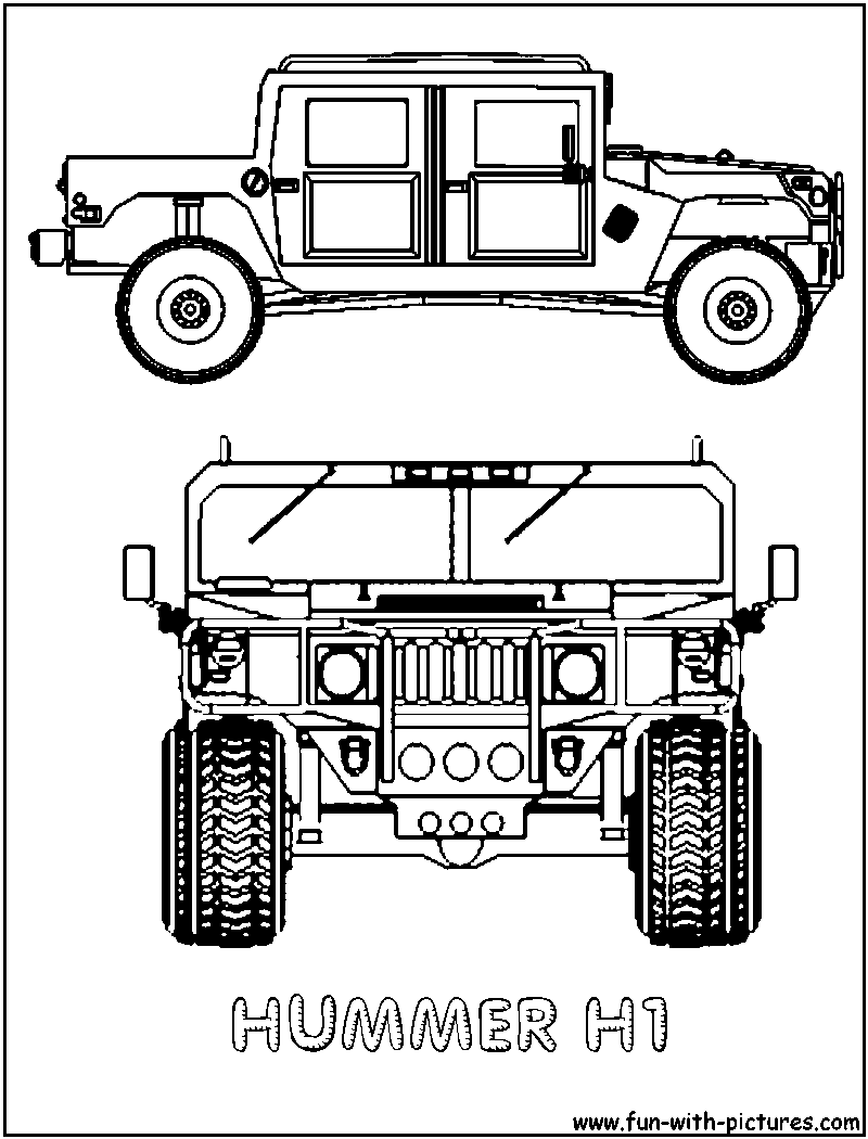 hummer coloring pages to print - photo#25