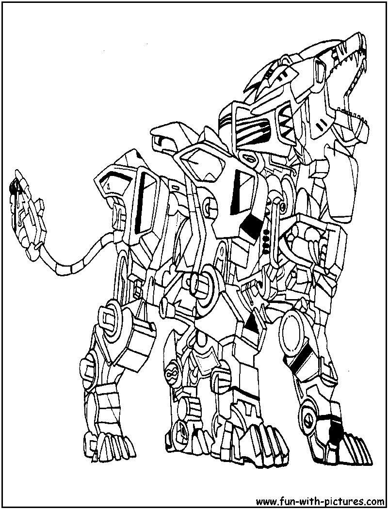 coloring pages zoids - photo#1