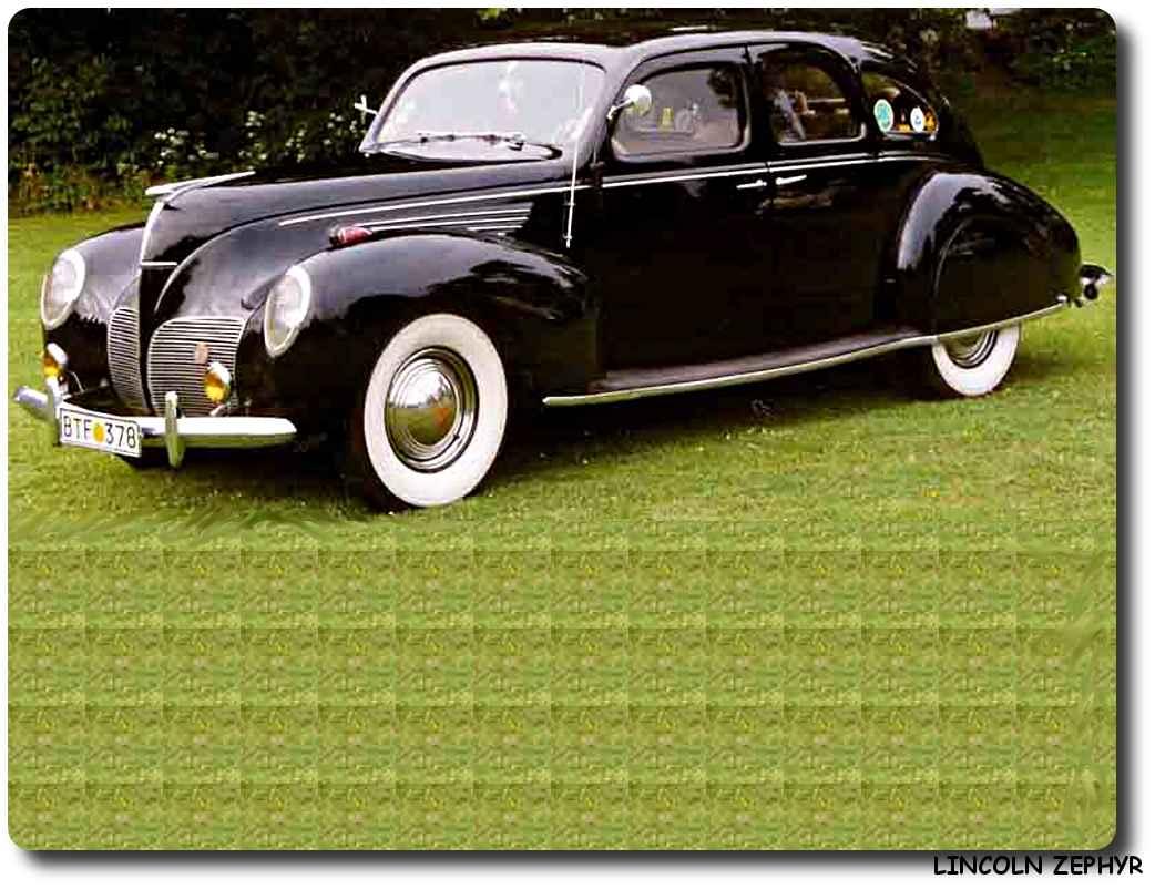 Lincoln Zephyr Car