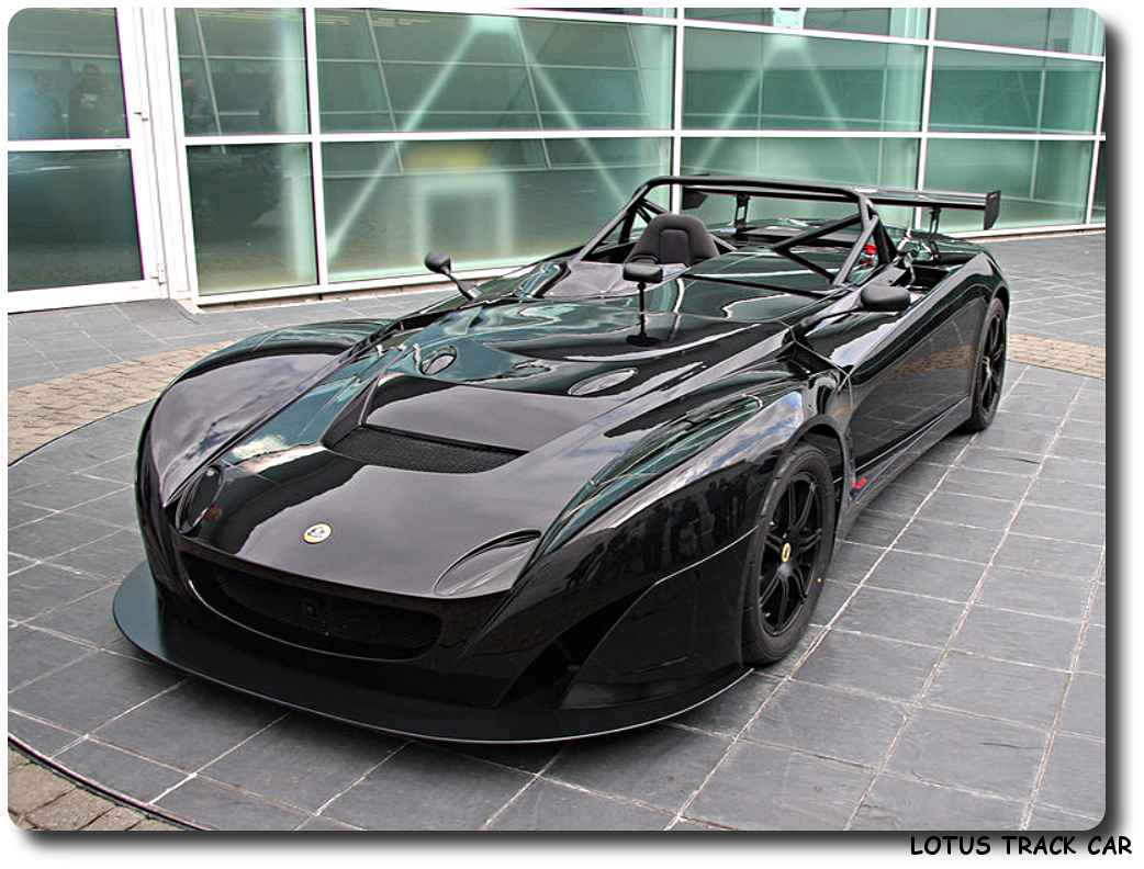 Cars For Kids >> Lotus Track Car