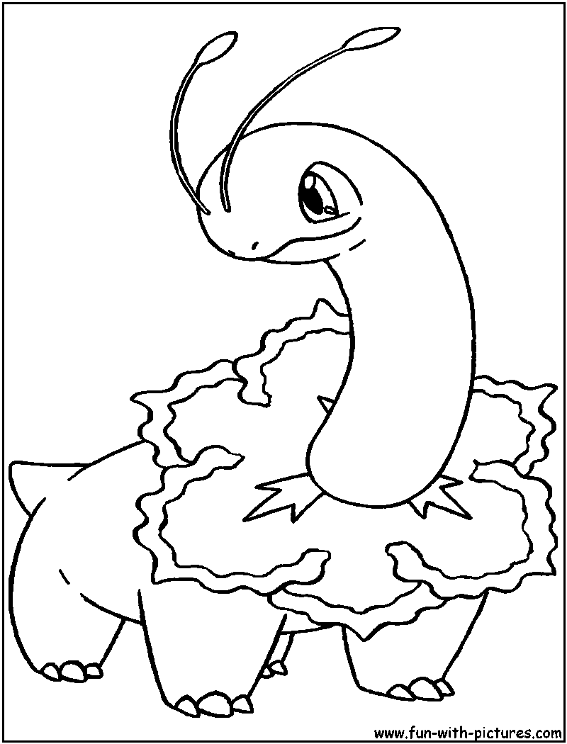 view larger image image - Grass Type Pokemon Coloring Pages