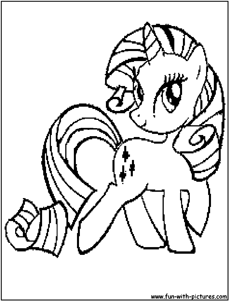 rarity para colorear Colouring Pages