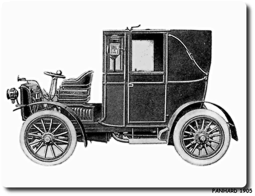 Printable coloring pages car - Printable Crafts Coloring Pages Fun Pictures Panhard 1905 Car