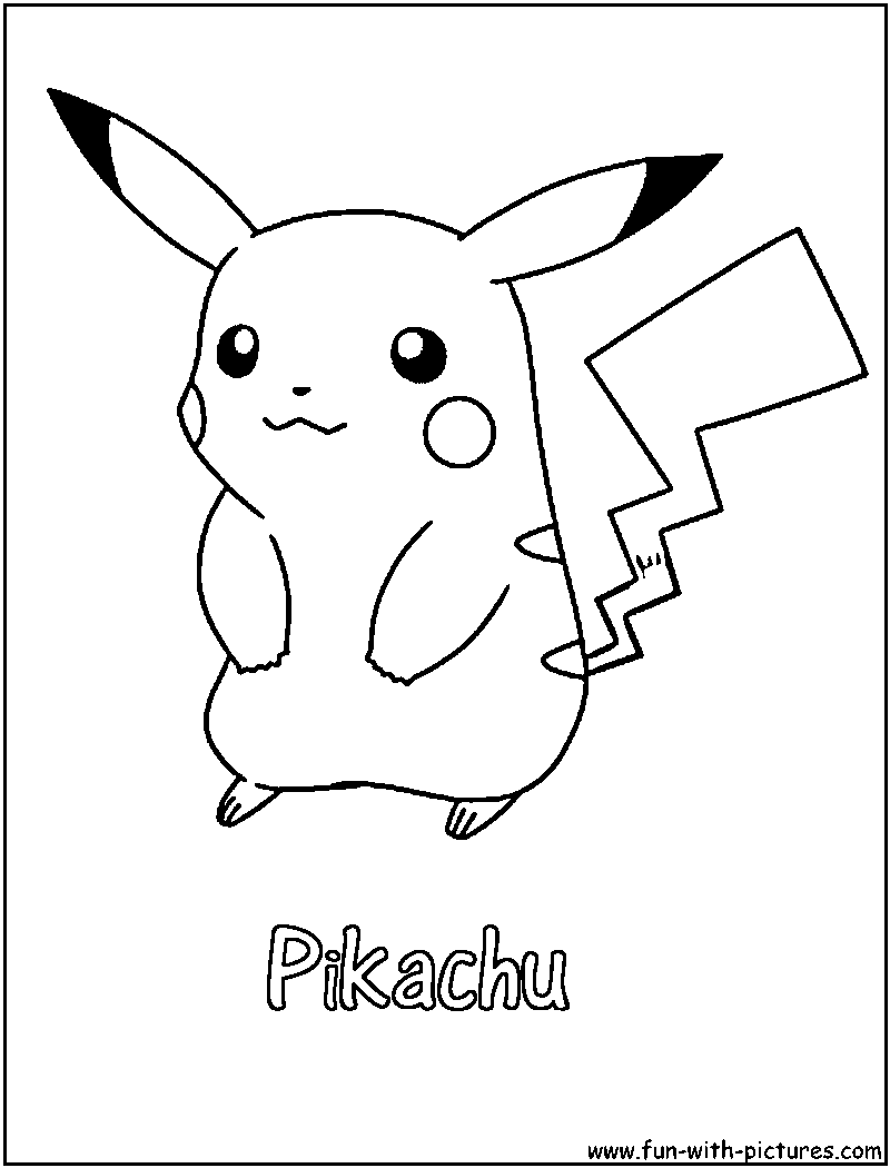 On A Pokeball Pokemon Pikachu Coloring Pages Coloring Pages Pikachu Coloring Page