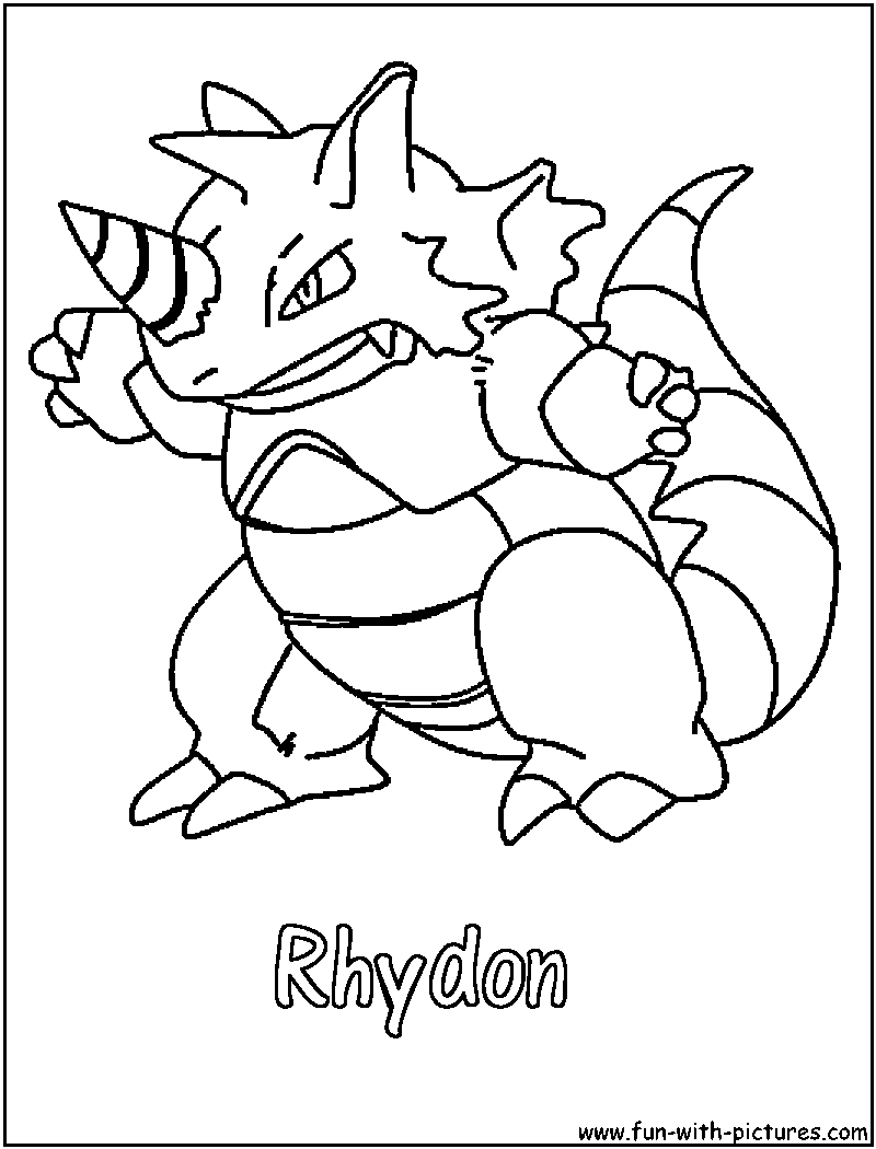 Ground Pokemon Coloring Pages