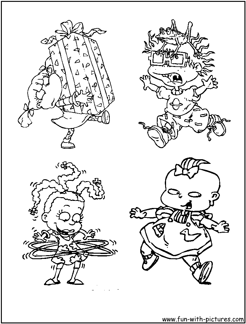 reptar coloring pages - photo#20