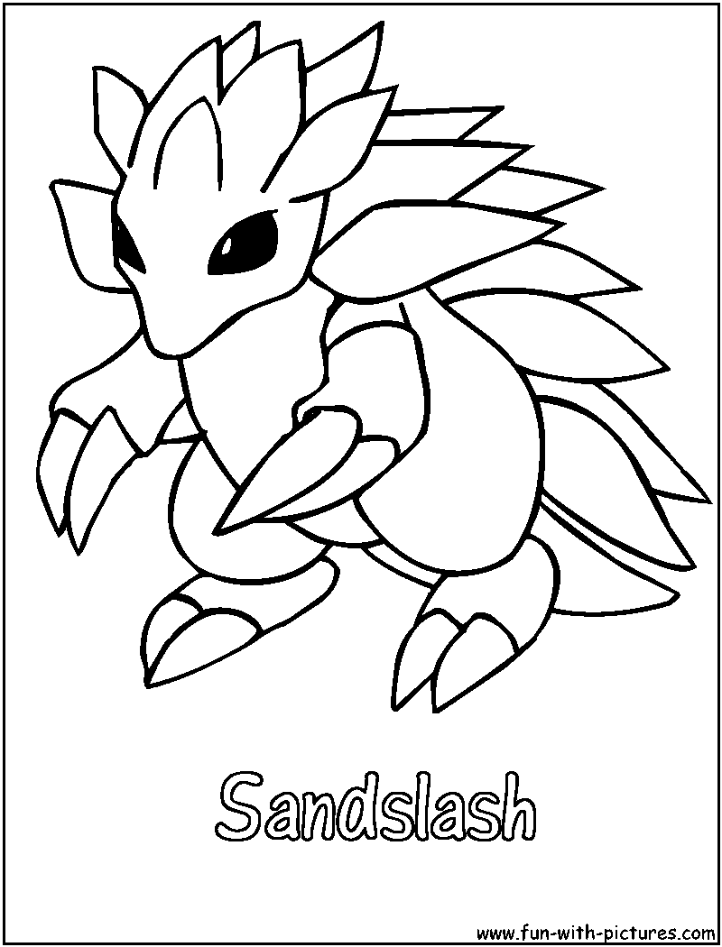 Ground Pokemon Coloring Pages Free Printable Colouring