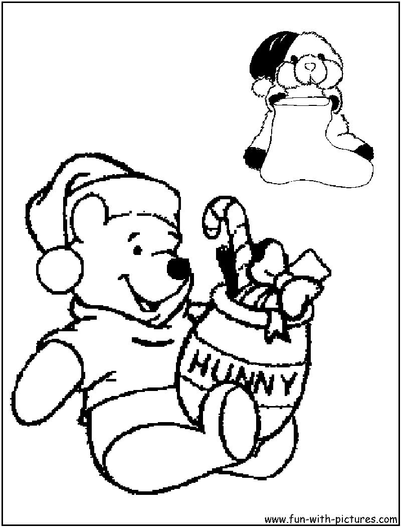 Baby Winnie The Pooh Coloring Pages Picture