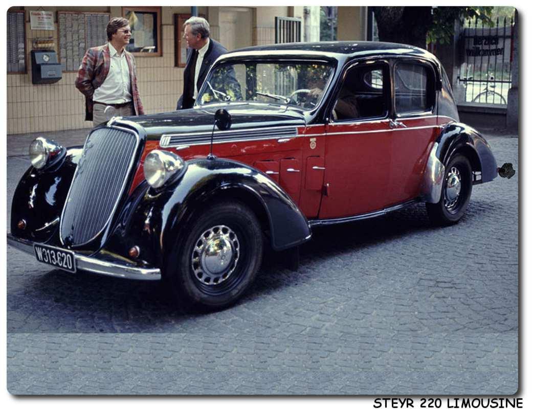 Steyr 220 Car