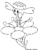 Flabebe Coloring Page