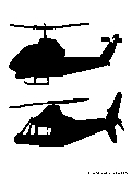 helicopters silhouette