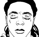 Lil Wayne Coloring Page