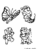 Pokemon Coloring Page2