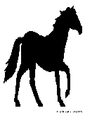 racehorse silhouette
