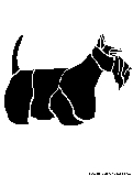 scottishterrier stencil